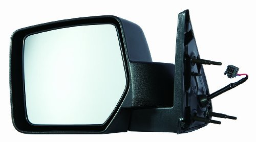 Depo 334-5420L3EF Dodge Nitro Driver Side Textured Non-Heated Power Mirror