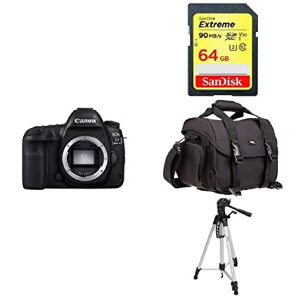 Amazon.com : Canon EOS 5D Mark IV Full Frame Digital SLR Camera Body ...
