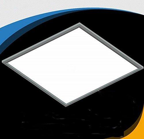 Sunnine 24x24-in 40-Watt 5000K LED Recessed Ceiling Panel Down Light Bulb Lamp For Indoor Home Super Bright ,Cool White