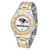 Game Time NFL Baltimore Ravens Mens Two-Tone CompetitorWrist Watch, White, One Size