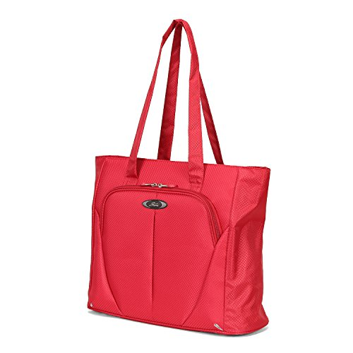 Skyway Mirage Superlight 18-Inch Shopper Tote, Formula 1 Red, One Size (Tote Piggyback)