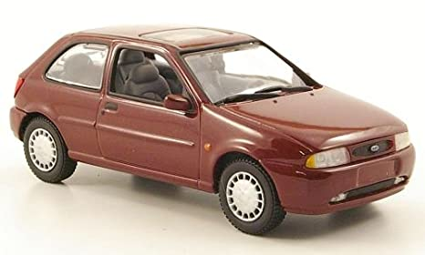 Ford Fiesta MKIV, 3 doors , metallic-dark red, 1996, Model Car