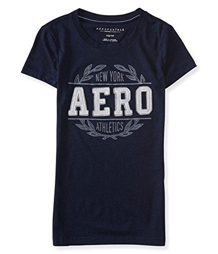 Aeropostale Womens New York Athletics Embellished T-Shirt 404 S