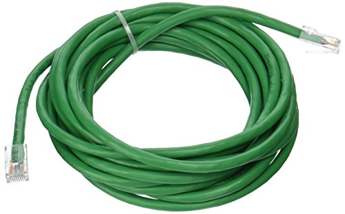 C2G 04139 Cat6 Cable - Non-Booted Unshielded Ethernet Network Patch Cable, Green (15 Feet, 4.57 Meters)
