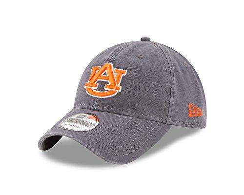 NCAA Auburn Tigers Adult Core Classic Graphite 9TWENTY Adjustable Cap, One Size, (Tigers Classic Baseball)