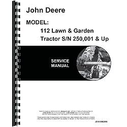 John Deere 112 Lawn & Garden Tractor Service M