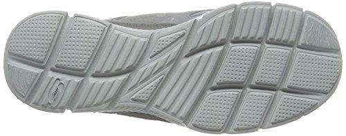 skechers EQUALIZER- TIMEPIECE - Zapatillas de deporte para hombre Gris (Gris (GRY))