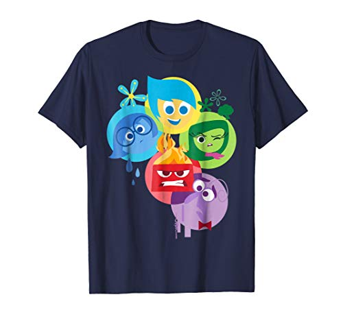 Disney Pixar Inside Out Simple Group Shot Graphic T-Shirt ()