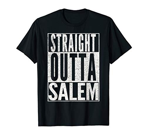 (STRAIGHT OUTTA SALEM Halloween Costume Witch Funny)