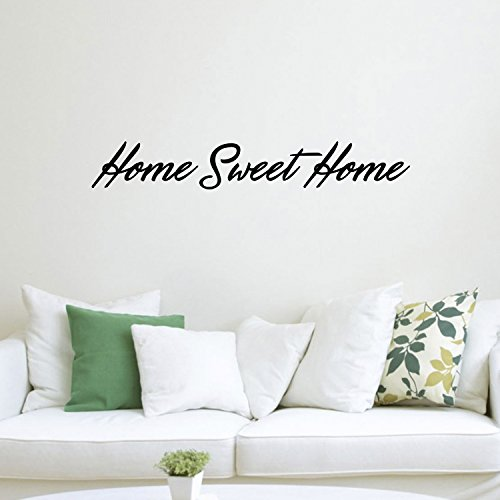 Home Sweet Home Inspirational Quotes Lettering Decor - Vinyl Wall Art Decal 6
