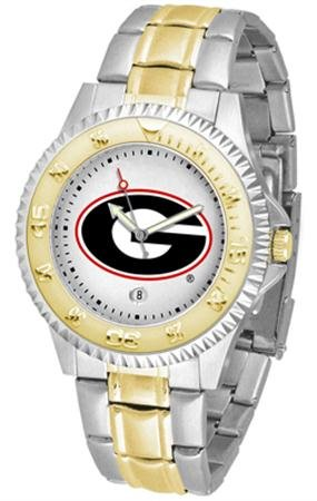 Georgia Bulldogs Competitor Two-Tone Men's Watch ()