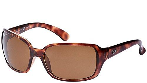 60cf7c057a Ray Ban RB4068 642 57 60mm Havana Polarized Women s Sunglasses Bundle-2 -
