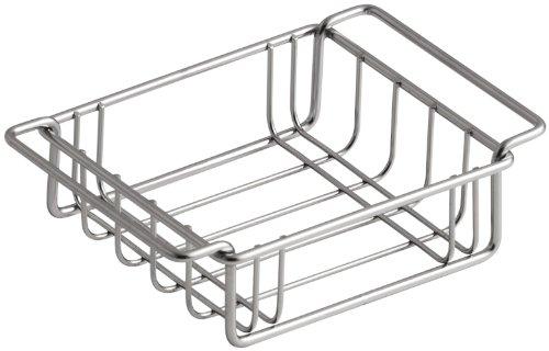 KOHLER K-3127-ST Wire Storage Basket, Fits Undertone Trough Sinks, Stainless Steel (Wire Stainless Basket Rinse Steel)