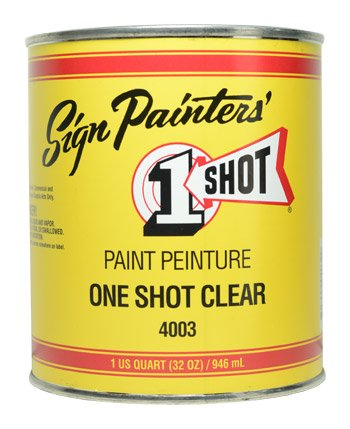 One Shot Sign Restoring Clear Quart (US) - 946ml by One Shot