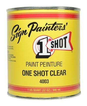One Shot Sign Restoring Clear Quart (US) - 946ml