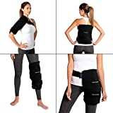Thermopeutic Premium Reusable Hot/ Cold Pack for Injuries and Pain Relief (15.5'' x 12'') - Extra Cold and Long Lasting Gel Formula - for Hip, Shoulder, Back, Knee & More