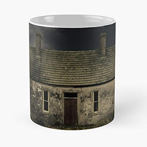 Derelict Cottage Atmospheric - Coffee Mugs -