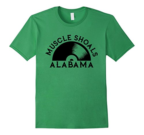 Mens Muscle Shoals Shirt Alabama Recording Studio Music City Large ()