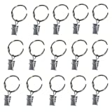 simpletome String Lights Hangers Clips Hooks for Lamp Photos Shower Curtain (50 Pcs)