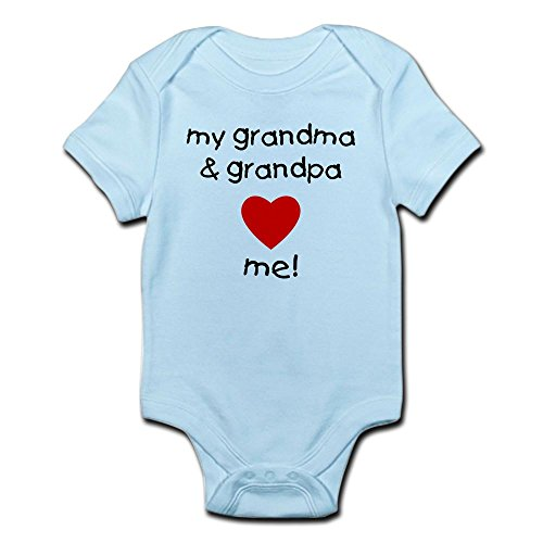 CafePress grandma grandpa Infant Bodysuit