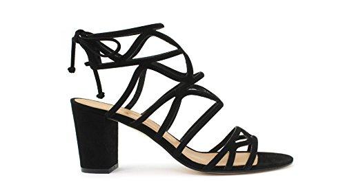 Sandalo MARC ELLIS MA1042 Camoscio Nero Taglia 35 - Colore NERO