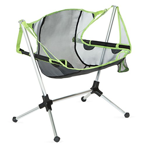Nemo Stargaze Recliner Low Camping Chair, Birch Leaf Green