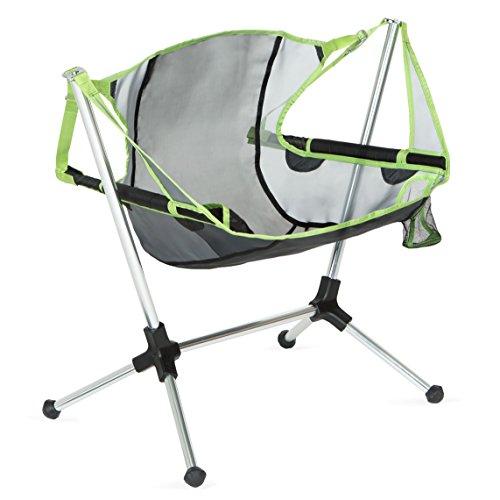 Nemo Stargaze Recliner Low Camping Chair, Birch Leaf Green (Swing Sale Chair)