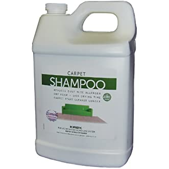 1 Gallon Genuine Kirby Allergen Shampoo. (Lavender Scent). Use with all model Kirby Vacuum Cleaner Shampooer Systems.