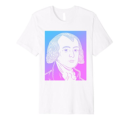 James Madison Shirt Vaporwave Pastel Goth T-shirt