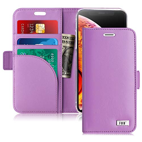 - FYY [Genuine Leather] Wallet Case for iPhone Xs (5.8