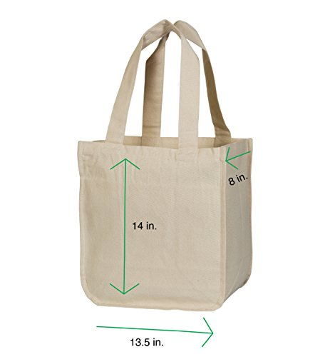 b01e8ebfcc ... Best Canvas Grocery Shopping Bags - Canvas Grocery Shopping Bags with  Handles - Cloth Grocery Tote ...