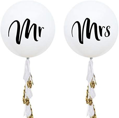 NICROLANDEE Balloons Engagement Decorations Bachelorette product image