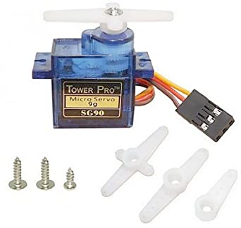 Tower pro micro servo 9g sg90 5 volt dc 220 650 ma amazon for 24 volt servo motor