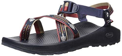 (Chaco Men's Z2 Classic USA Sport Sandal, Smokey Shovel Navy, 9 M US )