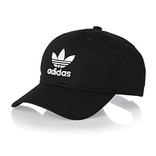 adidas Originals Trefoil Cap One Size Black - Original Adidas Hats