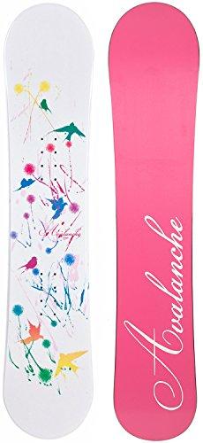 140cm Snowboard (Avalanche Divane Snowboard Womens Sz 140cm)