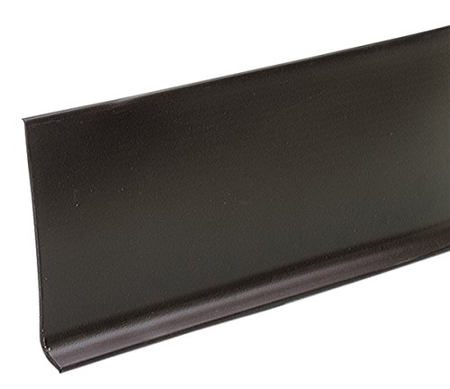 M-D Building Products 73900 4-Inch by 60-Feet Dry Back Vinyl Wall Base, Brown