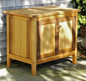 Amazon Com Outdoor Storage Buffet Server Cabinet