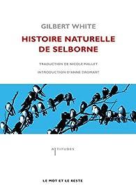 Histoire naturelle de Selborne par Gilbert White