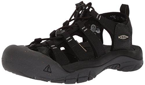 KEEN Women's Newport Eco-W Sandal, Black/Magnet, 9.5 M - Newport Stores