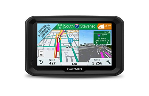 Garmin dezl 580 LMT-S, Truck GPS Navigator with 5-inch Display, Free Lifetime Map Updates, Live Traffic and Weather]()