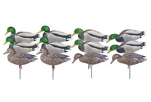Avery Hunting Gear PG Mallard FB-Feeder W-Flocked Drake Heads (1/2 Dozen)