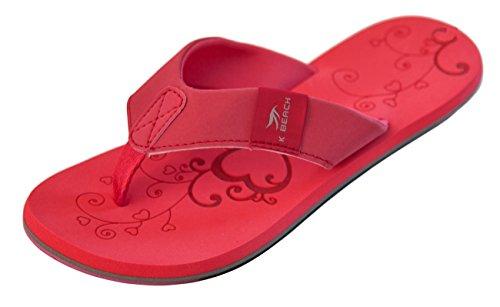 Flops 36 Damen KATRIN Flip BOCKSTIEGEL® Designs 41 2 red qZRvPnxw6