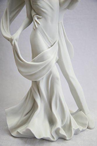 15.5'' Romantic Couple of Dancer Dance Statue Sculpture Figurine By Vittoria Collection Made in Italy by Vittoria Collection (Image #6)