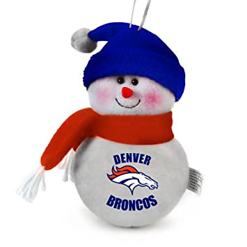 Denver Broncos Snowman Plush Toy