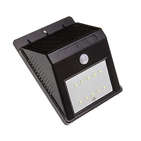 Aplique LED Solar con Detector de Movimiento PIR Martell efectoLED
