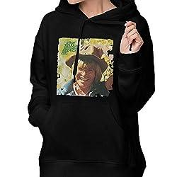 Womens Winter Hoodies John Denver Cotton Hooded Coat Jacket Pullover Sweatshirt Outwear Long Sleeve