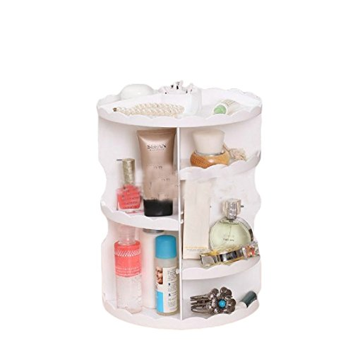 Freely Makeup Organizer Save Space Multi-function Plastic Ro