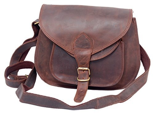 FeatherTouch Leather Purse Leather Clutch Crossbody Handbag Shoulder Bag