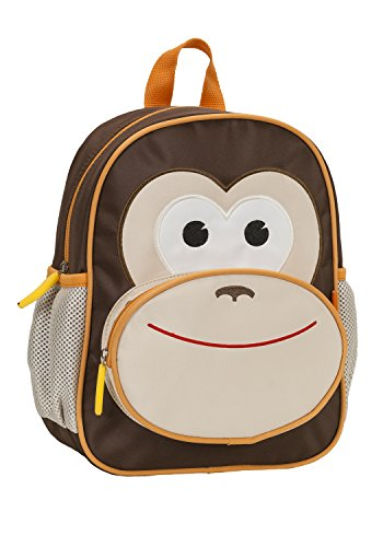 Rockland Jr. My First Backpack, Monkey,  - Monkey Backpack Shopping Results